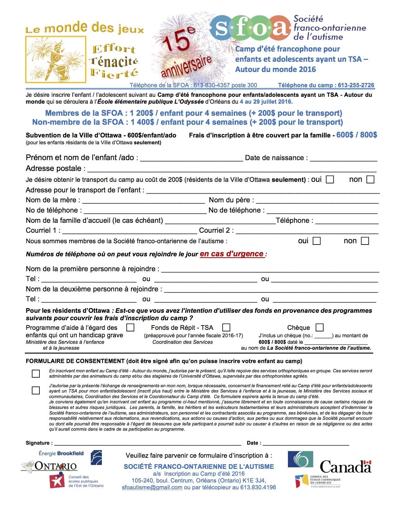 new styles 1541b dfb71 Formulaire d Inscription.ADM.2016